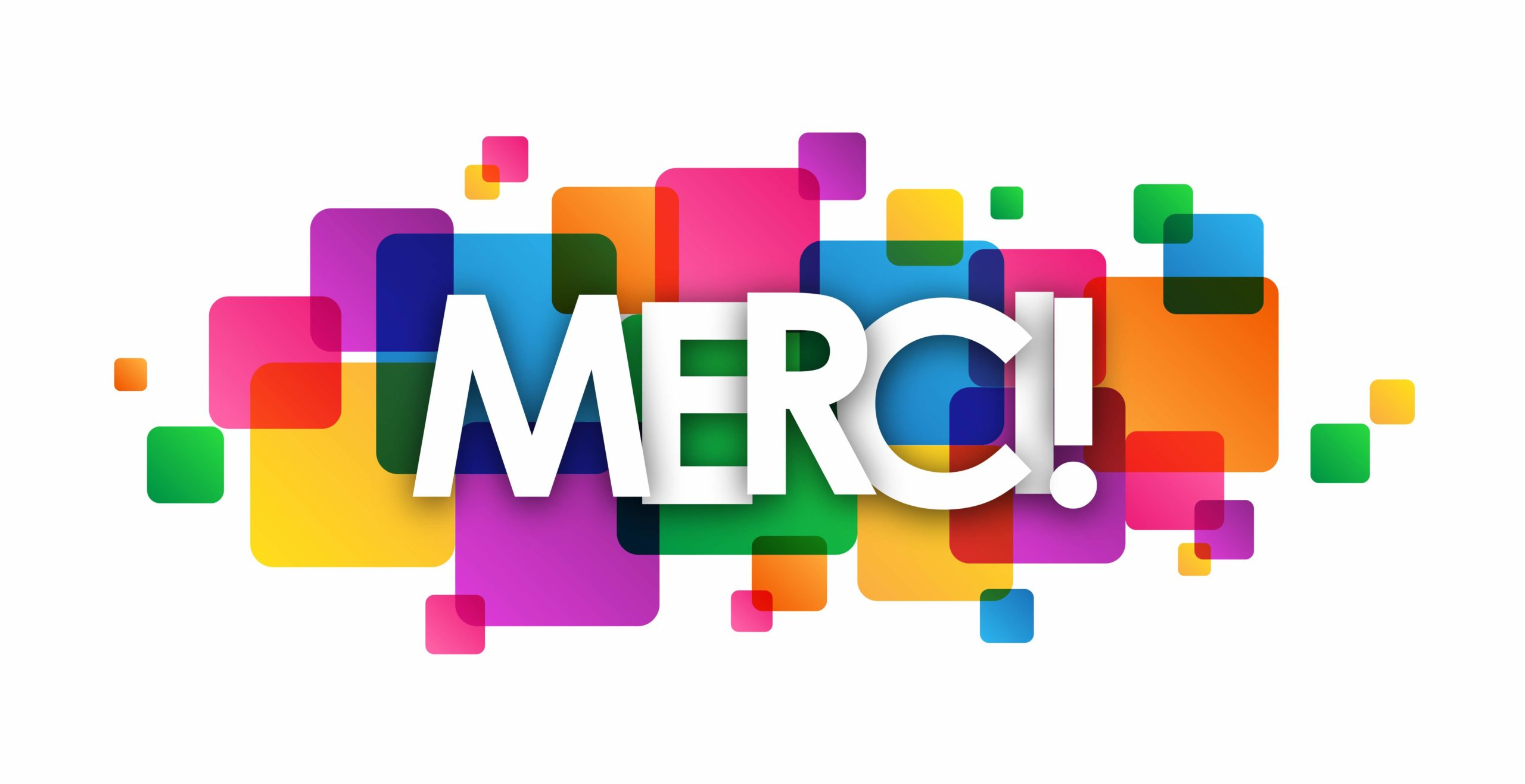Carte « MERCI »